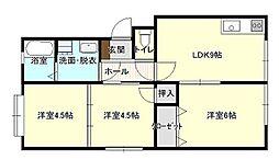 新宅第一マンション[206号室]の間取り