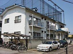 埼玉県川口市小谷場の賃貸アパートの外観