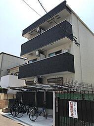 大阪府大阪市住之江区粉浜3丁目の賃貸アパートの外観