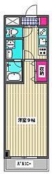 ピアーチェ・ウチムラ・パート22[302号室]の間取り