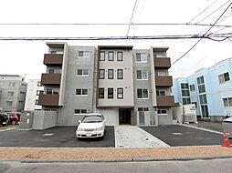 北海道札幌市白石区栄通20丁目の賃貸マンションの外観