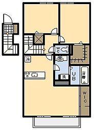 (新築)セジュール・アイII B棟[205号室]の間取り
