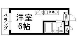 MLA香里園II[0201号室]の間取り