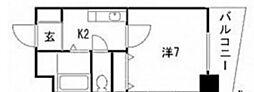 THE KAMINOBORI[2階]の間取り