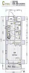 横浜市営地下鉄ブルーライン 阪東橋駅 徒歩5分の賃貸マンション 3階1Kの間取り