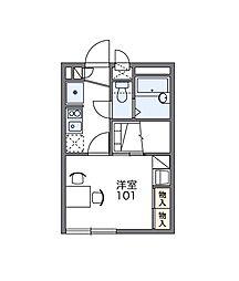 リッチトレイン[2階]の間取り