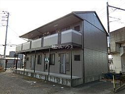 埼玉県北足立郡伊奈町羽貫の賃貸アパートの外観