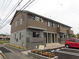 兵庫県姫路市広畑区正門通2丁目の賃貸アパートの外観