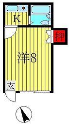 ヨシダコーポ[205号室]の間取り