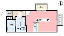 incubate[25号室]の間取り