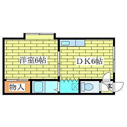 プロスパーR36[2階]の間取り