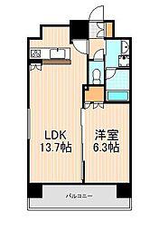 プレール・ドゥーク蔵前II[8階]の間取り