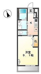 仮)羽生市岩瀬STⅢ[105号室]の間取り