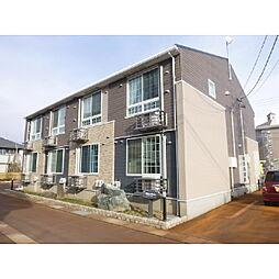 長野県飯山市大字飯山の賃貸アパートの外観