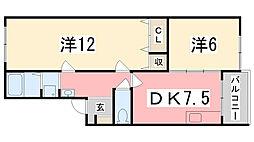 ソシア小泉IV[201号室]の間取り