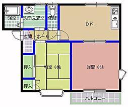 シノハラコーポ A棟[101号室]の間取り