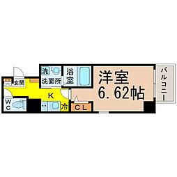 Z・R名駅[6階]の間取り