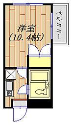 モンテリサイア淵野辺 305号室[305号室]の間取り