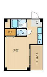 兵庫県尼崎市西本町1丁目の賃貸マンションの間取り