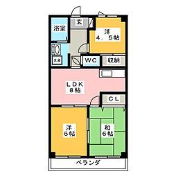HOUSE 610[5階]の間取り