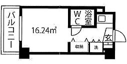 神奈川県横浜市青葉区桜台の賃貸マンションの間取り