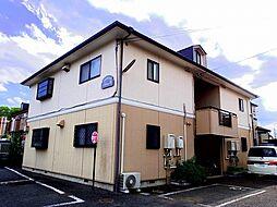 埼玉県所沢市北中2丁目の賃貸アパートの外観
