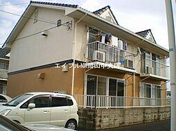 岡山県岡山市中区関丁目なしの賃貸アパートの外観