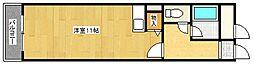 エムズ岸里[6階]の間取り