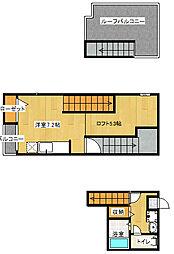 MAISONETIC I House[201号室号室]の間取り