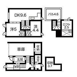 [テラスハウス] 北海道札幌市中央区南十七条西12丁目 の賃貸【/】の間取り
