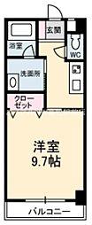 香川県高松市檀紙町の賃貸マンションの間取り