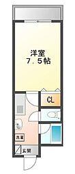 シーショア垂水[5階]の間取り