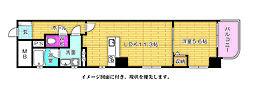 ファーストステージ国泰寺--[802号室]の間取り