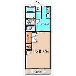 コーポモリ[305号室]の間取り