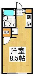 エトワール志木[2階]の間取り