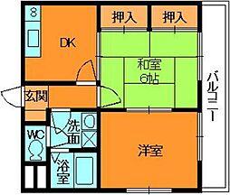 マイハウス小泉[3階]の間取り