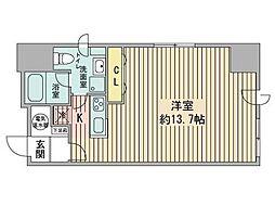 ルラシオン札幌駅前[10階]の間取り