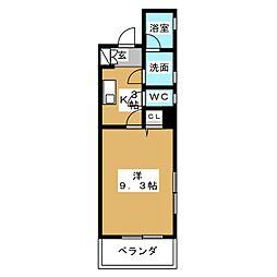 Felice Izumi[10階]の間取り