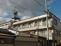 京都府京都市山科区御陵血洗町の賃貸マンションの外観