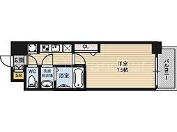 ウォークフォレスト御幸町[4階]の間取り