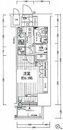 レジュールアッシュPREMIUM TWIN-1[9階]の間取り