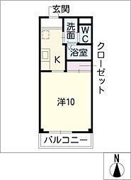 PAL HOUSE[2階]の間取り