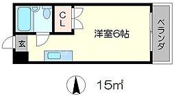 センチュリーハイツコスモ[4階]の間取り