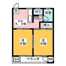 マンション天白[3階]の間取り