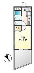ランドハウス チクサステーション[3階]の間取り