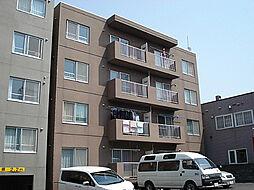 グリーンリーフ西岡[3階]の外観