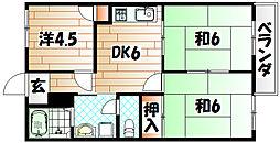 パークサイドM[2階]の間取り