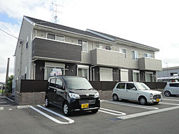 福岡県遠賀郡水巻町二西1の賃貸アパートの外観