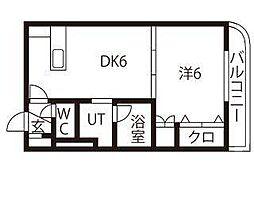 フォーレストヴィレッジ313[2階]の間取り