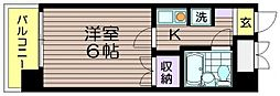 ピア吉野[303号室]の間取り